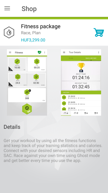 Fitness package 1